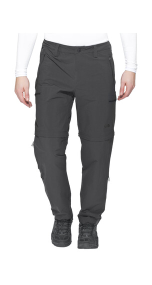 The North Face Exploration Convertible - Pantalones de Trekking - gris